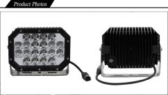 Aksesoris Offroad LAMPU LED WORK LIGHT TAS4X4 6 inch quad light