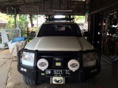Ford Ranger 2007+ BUMPER DEPAN FORD RANGER AMERICAN STYLE FOREST