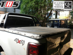 Ford Ranger 2015+ SOFT COVER SNAP AND CLIP AEROKLAS FORD ezywatermark18011002040616