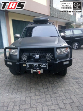Ford Everest BULLBAR DEPAN FOREST FORD EVEREST 1 ezywatermark180927024519919