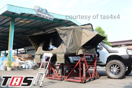 Aksesoris Offroad HARDTOP ROOF TENT FOR SUV MANUALLY FOLDABLE TAS4X4<br> 3 hartop_tent