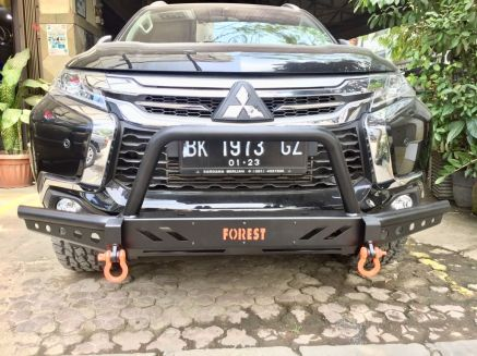 Pajero Sport All New BUMPER DEPAN FOREST ROCKY BAR PAJERO SPORT ALL NEW 5 img_20180823_wa0042