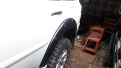 Pajero sport 2009 on OVER FENDER BAUT L PAJERO SPORT TAS4X4 p1