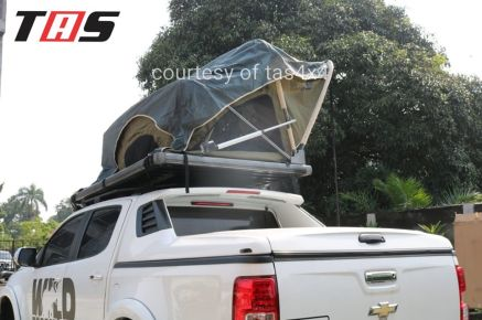 Aksesoris Offroad ROOFTENT OPEN IN ONE SIDE MANUALLY TAS4X4 3 tent_3